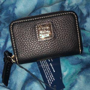 Dooney & bourke zip credit card holder